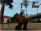 Gold Guns Pack для GTA San Andreas вид слева