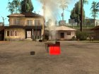 Жарить шашлык для GTA San Andreas вид сзади