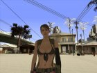 Skin HD Quiet (MGSV) v2 for GTA San Andreas left view