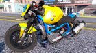 BMW R 1100R Street Fighter 2.0 for GTA 5 back view