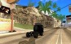 КАЗ 608в для GTA San Andreas вид сверху