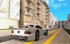 Mercedes-Benz CLK GTR road version for GTA San Andreas top view
