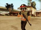 Raccoon SWAG HD GTA Online для GTA San Andreas вид сбоку