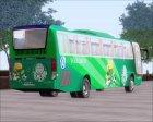 Busscar Vissta Buss LO Palmeiras для GTA San Andreas вид справа
