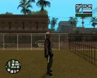 Grove with tattoos для GTA San Andreas вид слева