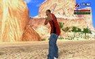 Окровавленная бита для GTA San Andreas вид сзади слева