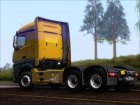 Mercedes-Benz Actros MP4 Stream Space black  6x4 V2.0 для GTA San Andreas