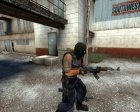 Gilkong Dangerous Terrorists для Counter-Strike Source вид слева