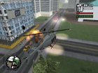 Запуск ракет с автонаведением for GTA San Andreas left view