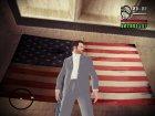 Макс Пейн в костюме для GTA San Andreas вид сзади слева