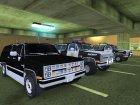 Пак автомобилей Chevrolet для GTA San Andreas вид сзади слева