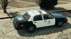 LAPD Ford CVPI Arjent 4K v3 for GTA 5 top view