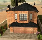 CJ's New Brick House for GTA San Andreas top view