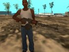 Battlefield Vietnam RPD Light Machine Gun для GTA San Andreas вид сзади слева