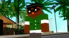 Bigsmoke Minecraft Skin for GTA San Andreas left view