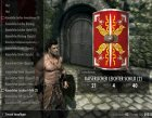 Imperial Light Shield original Ancient Roman style для TES V Skyrim вид слева