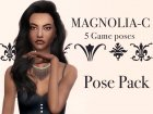 Magnolia  pose pack