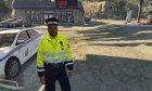 Российский офицер ДПС for GTA 5 right view