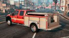 2013 Ford F350 Brush Truck for GTA 5 left view