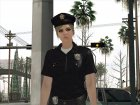 Female Police from GTA 5 for GTA San Andreas back view