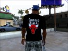 The Chicago Bulls T-shirt Black
