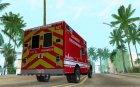 Dodge Ram 1500 LAFD Paramedic for GTA San Andreas top view