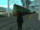 Пак Русских поездов for GTA San Andreas rear-left view