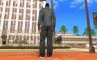 Black Adio Shoes for GTA San Andreas rear-left view