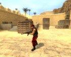 Red Guerilla Reskin для Counter-Strike Source вид изнутри
