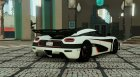 2014 Koenigsegg One:1 v1.1 for GTA 5 rear-left view