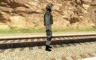 Солдат в городском камуфляже for GTA San Andreas top view