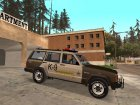 RCSD Red County Sheriff Department Jeep Cherokee 1992 for GTA San Andreas left view