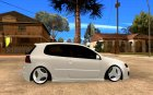 VW Golf Mk5 - ODT for GTA San Andreas inside view