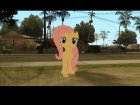 Fluttershy (My Little Pony) for GTA San Andreas left view