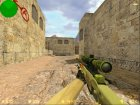 AWP Dragon Lore из CS:GO для Counter-Strike 1.6 вид слева