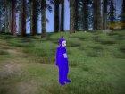 Твинки-Винки Телепузики для GTA San Andreas вид сзади слева