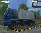 MAN Fliegl Spreader V 1.0 для Farming Simulator 2015 вид слева