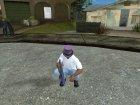 Фиолетовый цилиндр из GTA V Online для GTA San Andreas вид справа