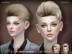 Sclub ts4 hair Michael для Sims 4 вид сзади слева