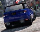 2016 Range Rover Sport SVR  v1.2 for GTA 5 left view