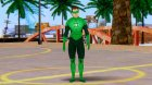 Green Lantern The Movie Hal Jordan for GTA San Andreas left view