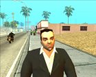 HD Mobile Tony Leone для GTA San Andreas вид сверху