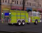 Pierce Quantum Miami Dade Fire Department Tanker 6 для GTA San Andreas вид сверху