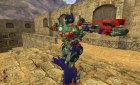 Optimus Prime for gsg9 for Counter-Strike 1.6 top view