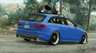 2014 Audi Avant RS4 for GTA 5 rear-left view