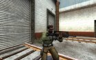 Black Famas для Counter-Strike Source вид сверху