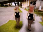 Sonico Bunnygirl for GTA San Andreas left view