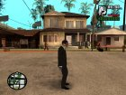 Dallas ( Payday ) для GTA San Andreas вид сзади слева