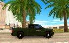 Chevrolet Silverado Police for GTA San Andreas inside view