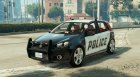 Volkswagen Golf Mk 6 Police version для GTA 5 вид слева